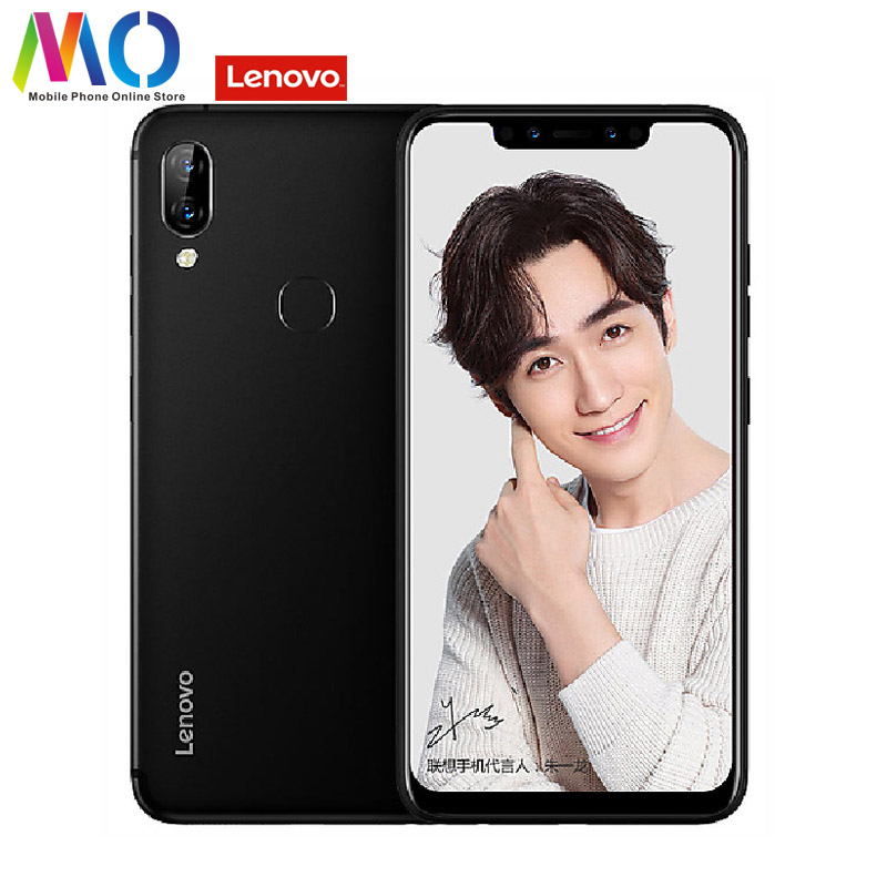 Mondial Version Lenovo S5 Pro Andoid 8.1 20MP Caméra 6 GB 64 GO téléphone portable 6.2 Snapdragon 636 3500 mAh 4G LTE B20 OTA Smartphone