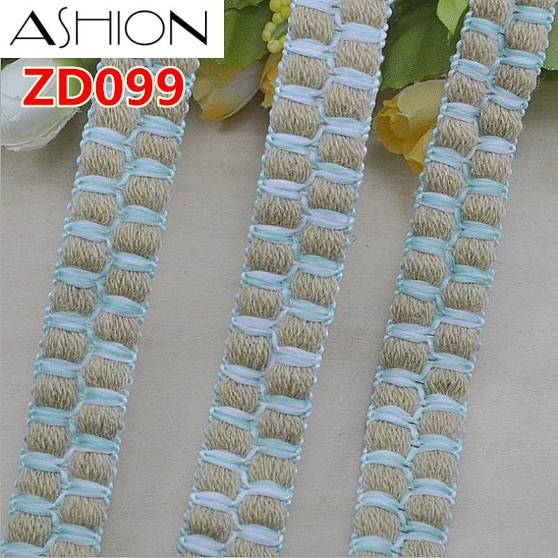 CHICKNIT width 2CM Fashion Style trim Braided ribbon ZD099