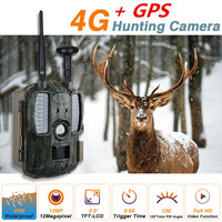 GPS 4G/3G/2G Scout Guard Hunting Camera MMS GPRS GSM Trail Camera Chasse Photo Traps Home Surveilance Wild Camera for Hunting