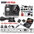 2017 New , 4 K 30fps H9 plus Action camera , EK EN 1080P/120fps Camera WiFi 2.0 LCD pro Helmet Camera go waterproof sport DV
