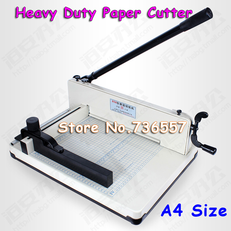 New Generation Heavy Duty 16KG All Metal Steel Ream Guillotine 12In A4 SIze Stack Paper Cutter Paper Cutting дырокол deli heavy duty e0130