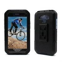 Fiets telefoon case voor Samsung Galaxy S7 S6 Edge S3 S4 S5 bike bag mobiele telefoon cover houder fietstas mobiele telefoon bag case pouch