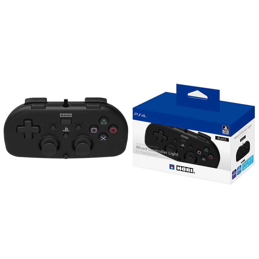 Hori Four Colors for PlayStation 4 Mini Gamepad Wired Controller light White Red Blue Black for