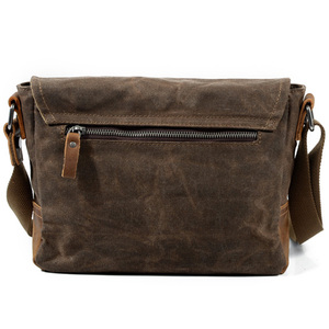 Image 4 - ABDB Crossbody MenS Shoulder Bag Waterproof Canvas Bag MenS Casual Messenger Bag