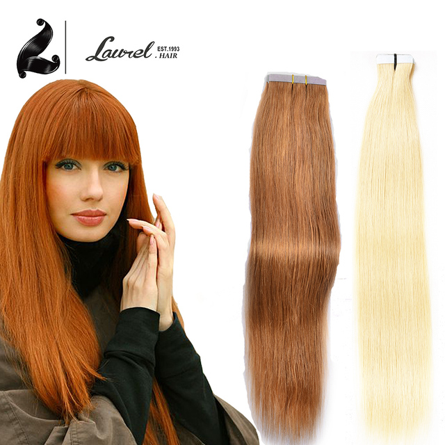 Virgin Remy Tape In Hair Extensions 20pcs 16 To 24 Inch 17 27 33