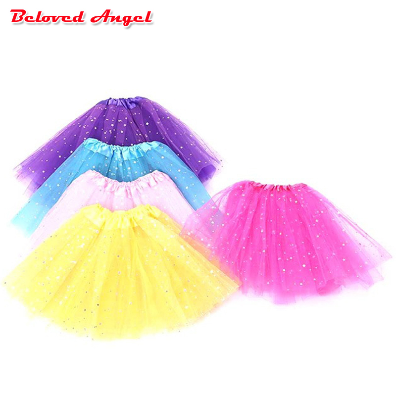Fashion girls birthday outfit children skirts girls tutu skirts kids baby fluffy pettiskirts puffy tulle skirt for girl 2-8years