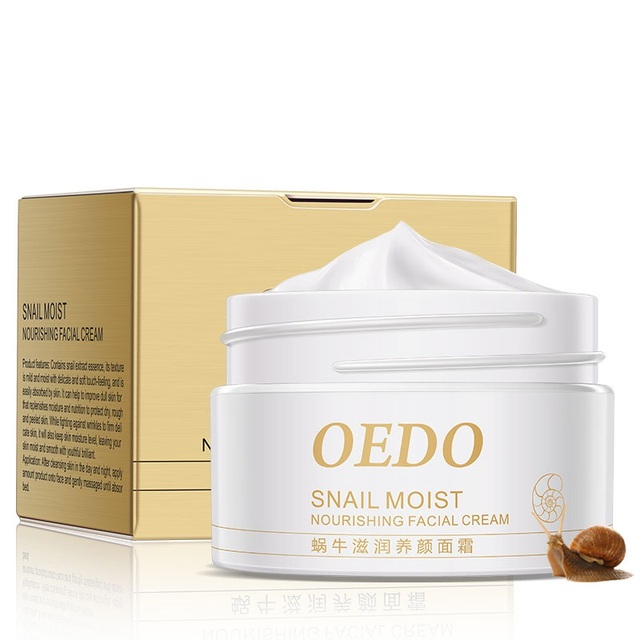 Snail Moist Nourishing Facial Cream Anti Wrinkle Cream Imported Raw Materials Skin Care Anti Aging Wrinkle Snail Care 5
