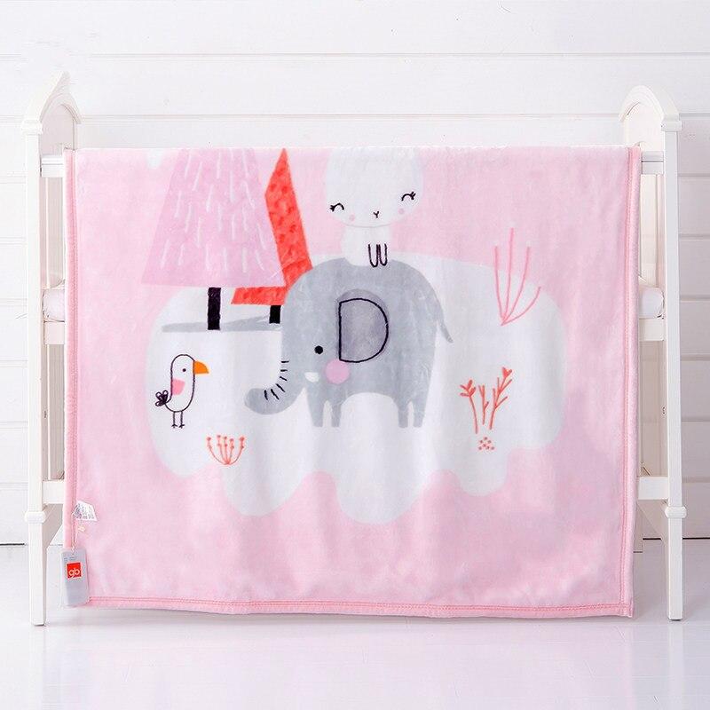 Dessin animé enfant couette bébé couvertures Super doux chaud nouveau-nés lange d'emmaillotage multi-usage bébé serviette de bain épaissir bébé couverture d'emballement