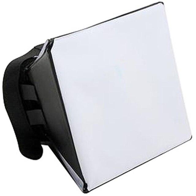Nhiếp Ảnh di động Mềm Hộp Kit Flash Diffuser Softbox cho Canon Nikon Sony Pentax Olympus Sigma Minolta DSLR Speedlite Flash