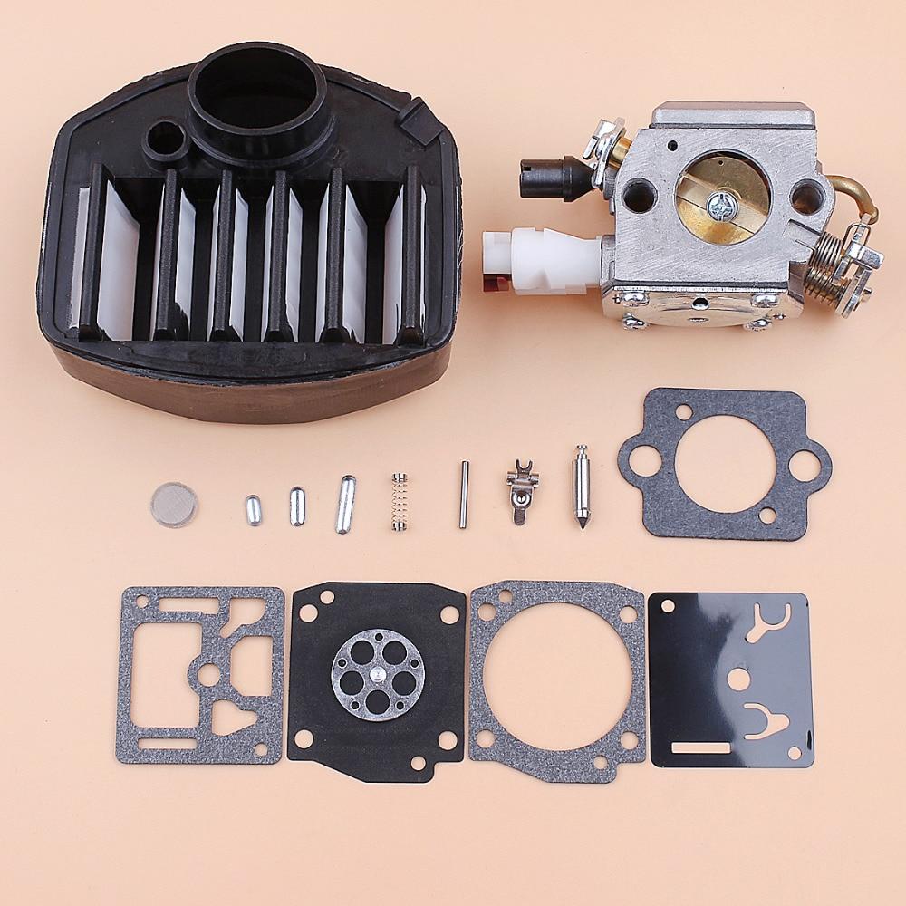 Carburetor Carb Air Filter Repair Kit For Husqvarna 359 357 357XP Jonsered 2159 Chainsaws Zama C3-EL18B RB-163 Chainsaw Parts
