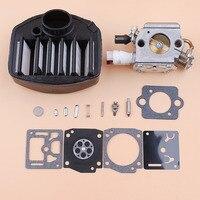 Kit de reparación de filtro de aire de carburador para Husqvarna 359 357 357XP Jonsered 2159  motosierras Zama C3-EL18B RB-163  piezas de motosierra