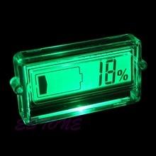 12V 24V 36V 48V LCD car Acid Lead Lithium Battery Capacity Indicator Digital Voltmeter Voltage Tester