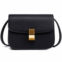 Exquisite Solid Color PU Ladies Casual Shoulder Bag Trumpet Design Brand Well-Known Multi-Function Hot Selling Messenger Bag Top-Handle Bags