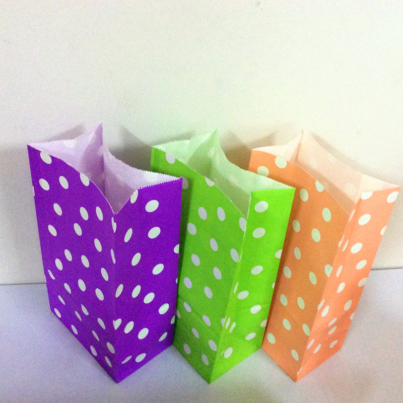 13x24x8cm Flat Bottomed Paper Bag Wedding Favors And Gifts Pack Of 25 Colored Lunch Bags On Aliexpress Alibaba Group
