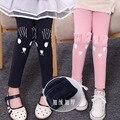 Осень Зима новорожденных девочек леггинсы плюс thicking флис теплые леггинсы брюки для девочки дети мода брюки брюки детские брюки