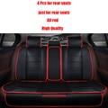 4 unids Leather car seat covers Para Lada 110 111 112 Signet Samara Niva Vesta DE RAYOS X Granta Kalina priora coche accesorios styling