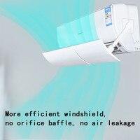 Крышка для кондиционера анти-прямая выдвижная регулируемая крышка для кондиционера лобовое стекло кондиционер перегородка щит ветер