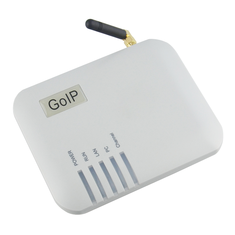 Quad Band 1xGSM SIM Gateway Converter SIP IP Phone Adapter goip-1 support IMEI change