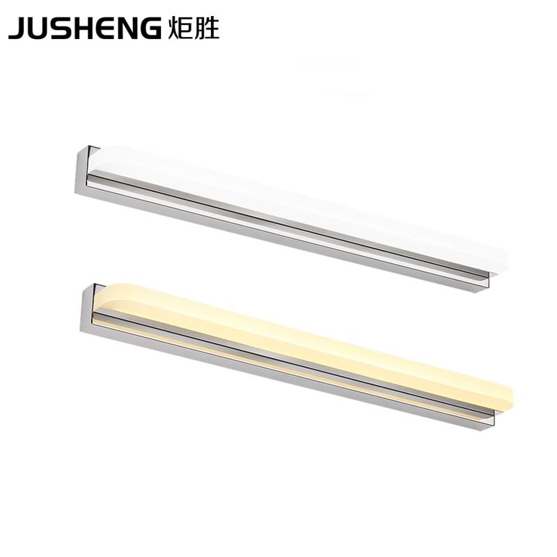 Sodobne svetilke za kopalniške LED svetilke iz belega akrilnega - Notranja razsvetljava