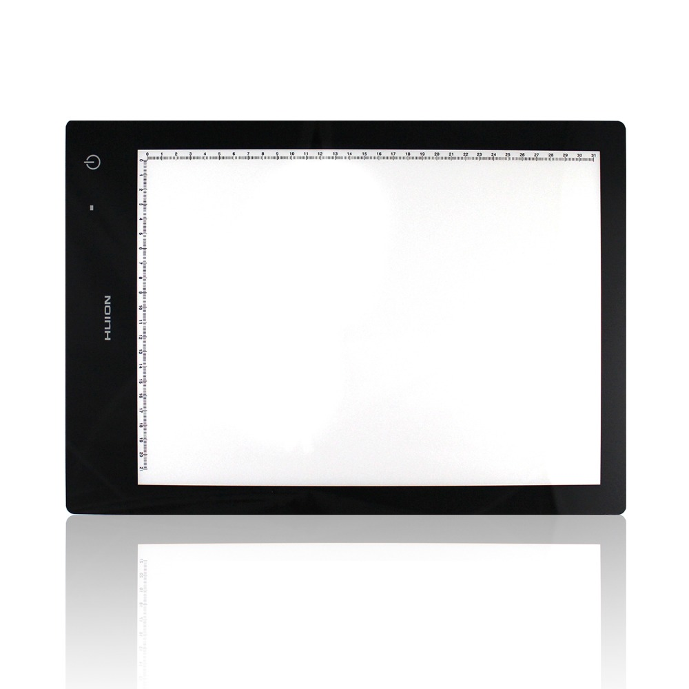 HUION LB4 WIRELESS 17.7 Inch LED Light Pad Drawing Tracing Pad Light Box with Dual Modes Power Supply USB and Lithium Battery