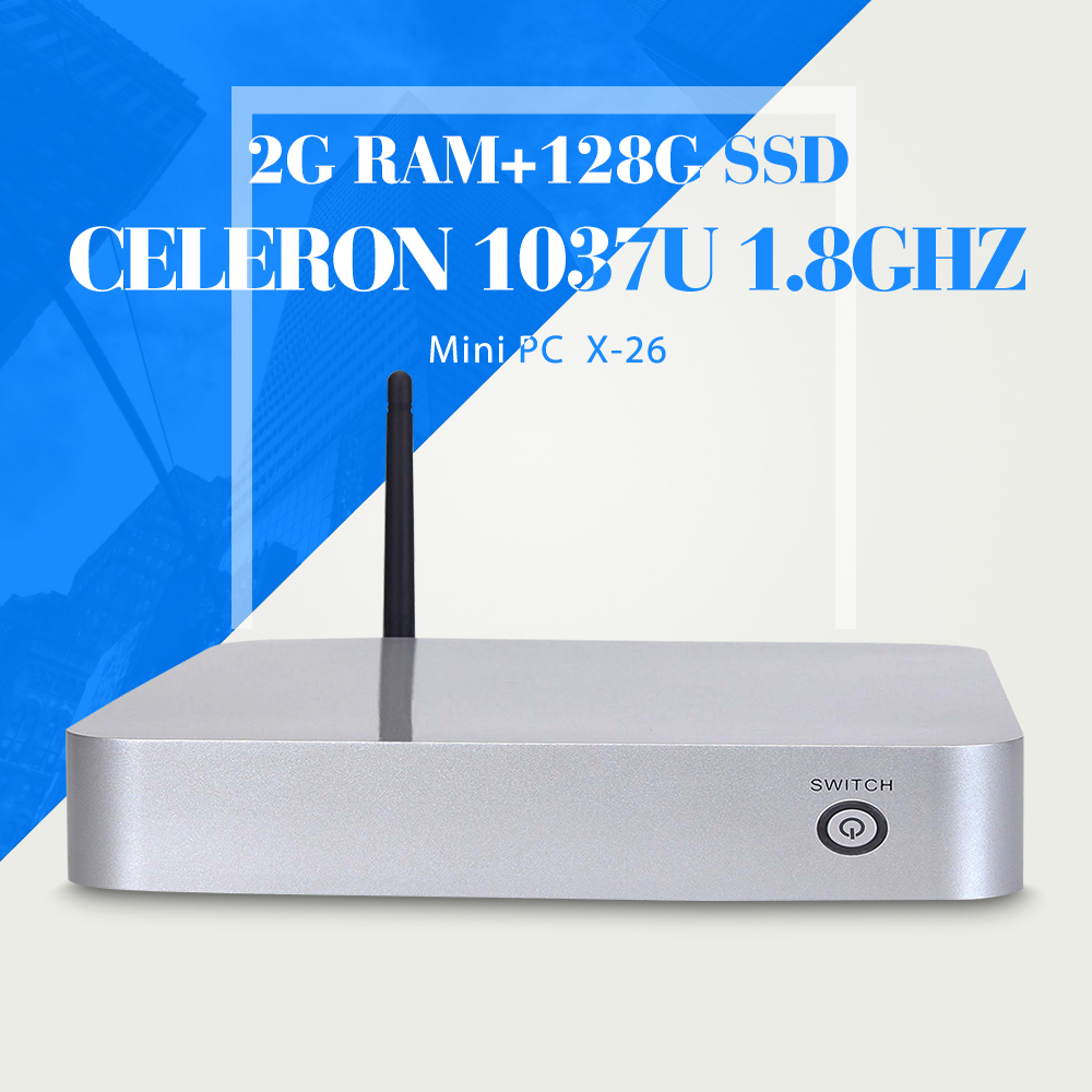 Ordenador Dual Core CPU C1037U Mini escritorio C1037U PC Windows 8.1 / 7 / Linux