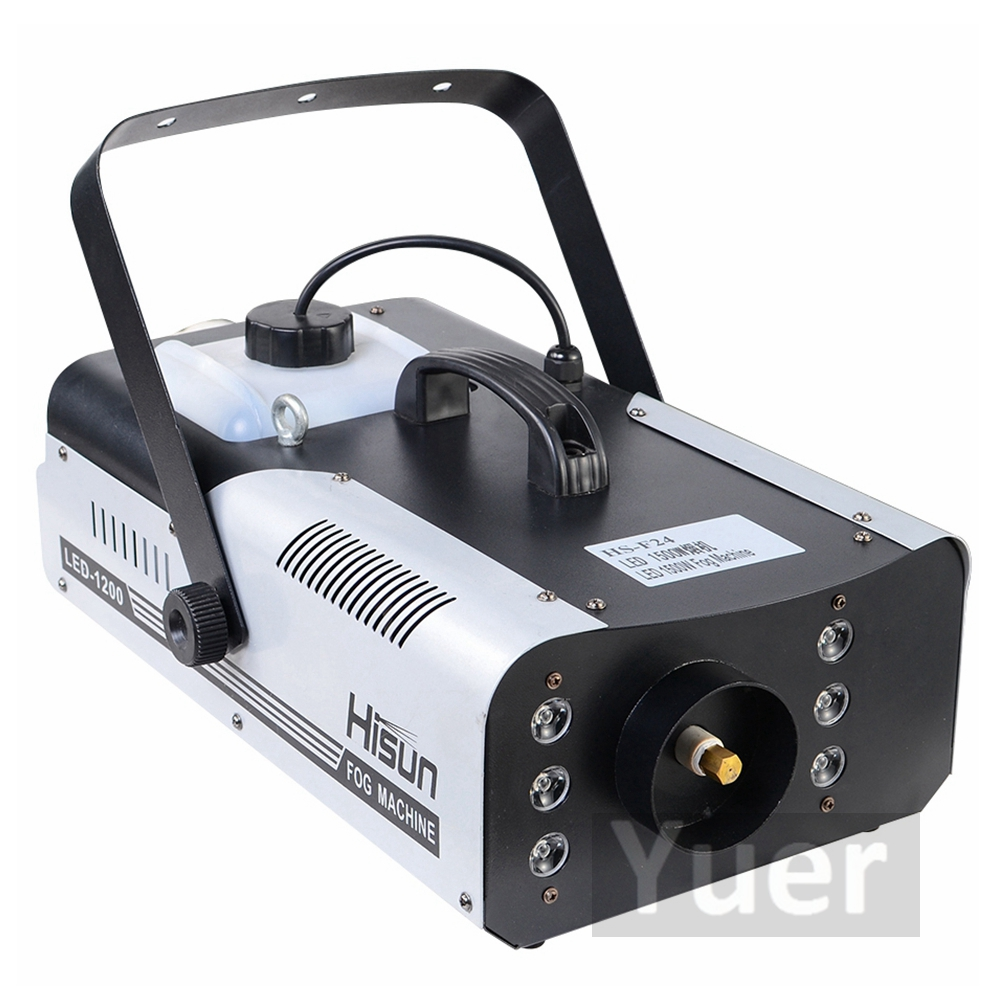 Image 2 - High Quality 1500W RGB LED Fog Stage Effect Smoke Machine Remote Control Smoke Machine Disco Stage Lighting Fog DJEquipment-in Stage Lighting Effect from Lights & Lighting