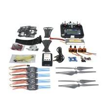 DIY RC Drone Quadcopter ARF X4M360L Frame Kit with QQ Super flight control Motor ESC flysky