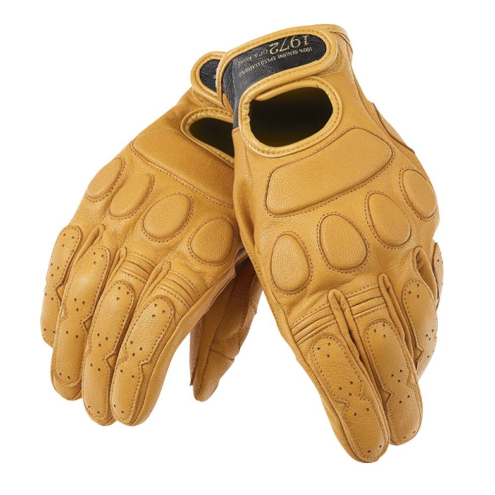 D Blackjack1972 Мотоцикл перчатки 100% из натуральной кожи MotoGP гонки Вождение руль короткий оригинальный миг перчатки дышащие полный