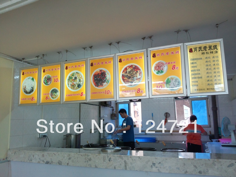 A3 Size Snap Menu Display Lightboxposter Frame Lightbox In LED Modules From Lights Lighting On Aliexpress