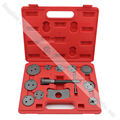 12pc brake pad brake wheel cylinder replacement tool Disc brake adjustment tool set Brake pads regulator disassembling tool