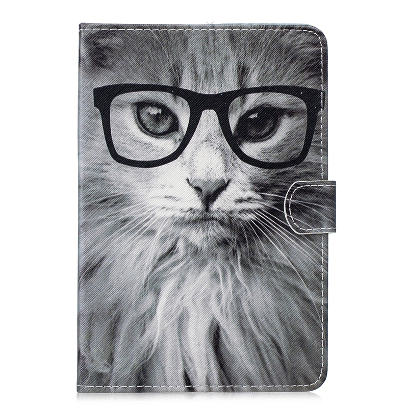 Phone Etui For Coque Samsung Galaxy Tab A 8.0 T350 T351 T355 Case Leather Wallet Flip Cover For Samsung Taba 8.0 T350 Capinha