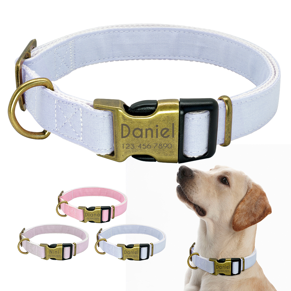 HTB1qNt bjvuK1Rjy0Faq6x2aVXar - Halsband hond met naam en telefoonnummer vintage uitstraling