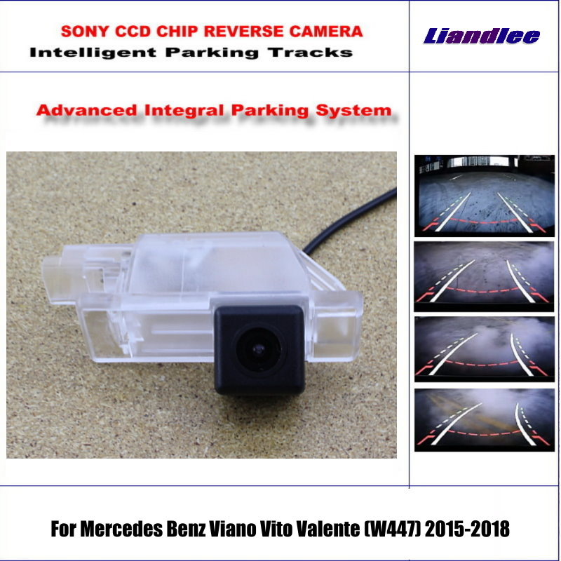 Rear Camera For Mercedes Benz Viano Vito Valente (W447)2015-2018 Parking Tracks Backup Reverse Lines Dynamic Guidance Tragectory пазл 300 элементов ravensburger