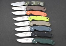 Ontario RAT Folding Knife Pocket Knives AUS-8 steel Blade G10 Handle Camping Hunting Survival Knife Outdoor EDC Tools
