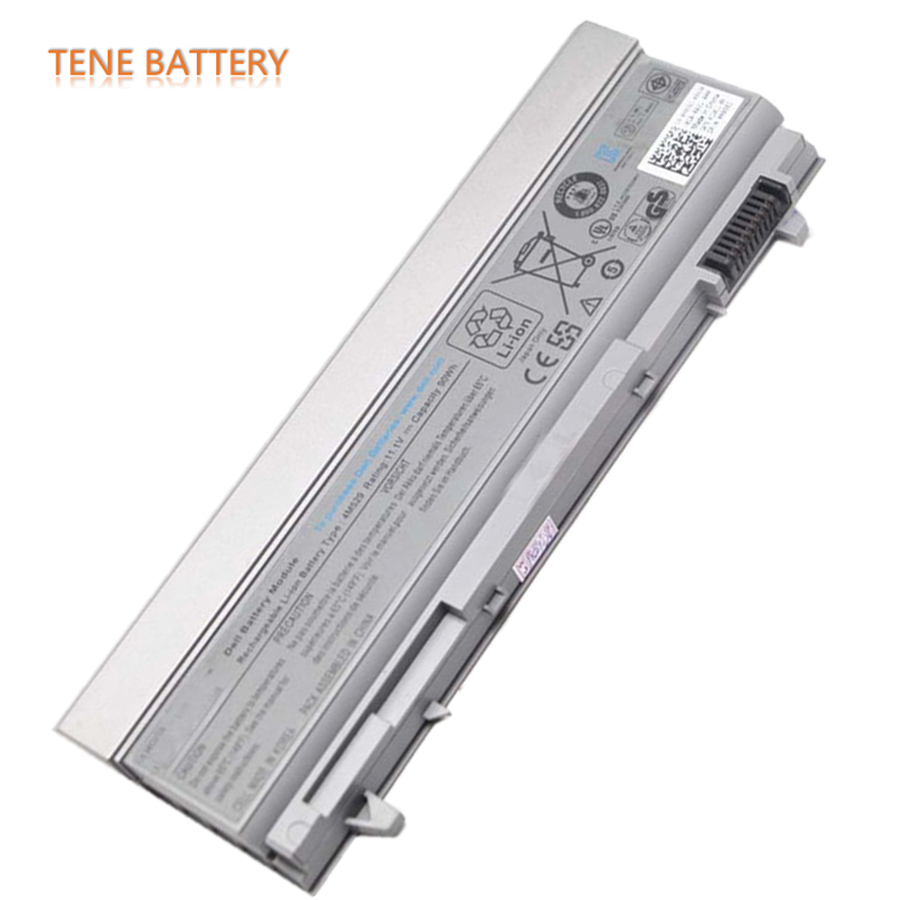 11.1V 90wh Original Laptop Battery E6400 for Dell E6410 E6400 E6500 E6510 4M529 Notebook Free Shipping NM631 KY265 NM631 Bateria 11 1v 65wh original laptop battery vv0nf for dell latitude e5440 e5540 notebook free shipping vv0nf vjxmc genuine bateria