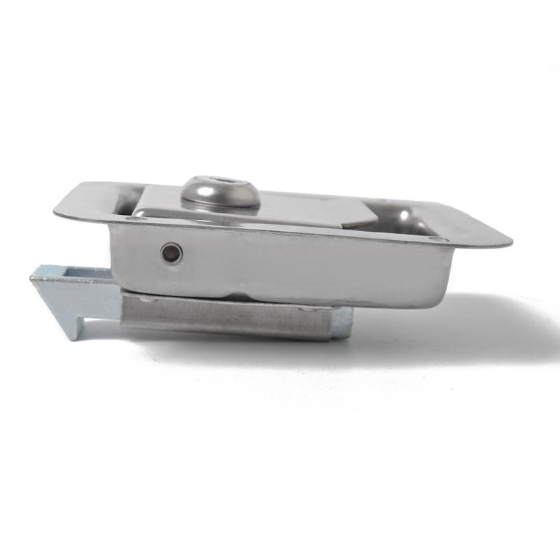 US $17 54 |Car Accessories Stainless Steel Car Paddle Latch Trailer Truck  Tool Box Door Lock With Key Auto Vehicle Security Locking-in Car Lock from