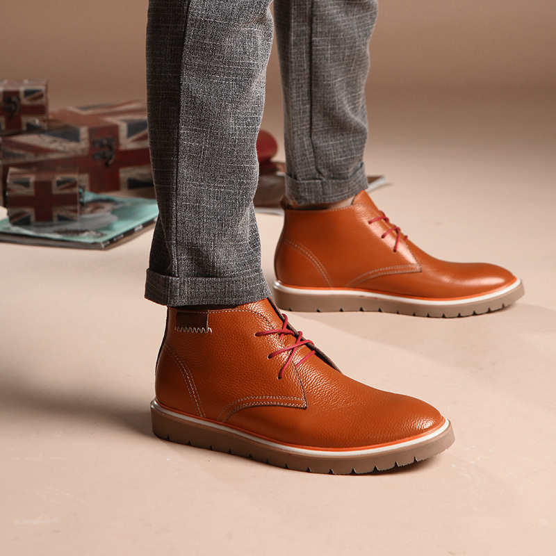 Online Shop Fashion for men's fashion boots for the winter warm ...