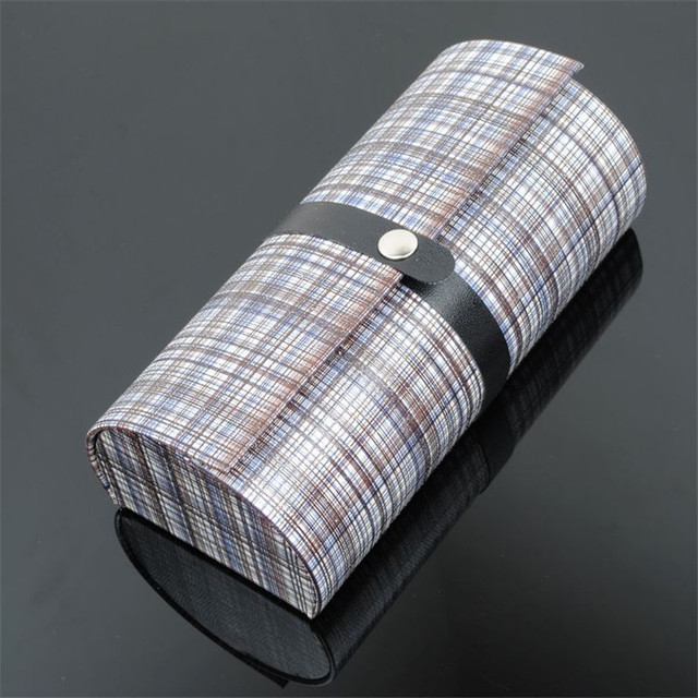 Vazrobe Top Quality Plaid Sunglasses Case U0026 Oversized Spectacles Boxes  Portable Storage For Glasses Frame Large