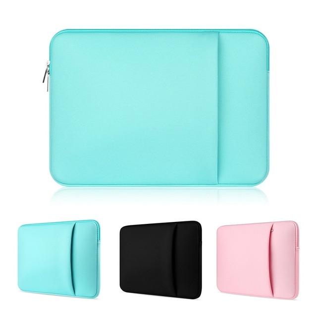 US $4.36 20% OFF|Soft Zipper Laptop Sleeve