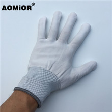 2 أزواج الأبيض الفينيل التفاف فيلم قفاز ل سيارة التفاف أدوات سيارة التفاف
