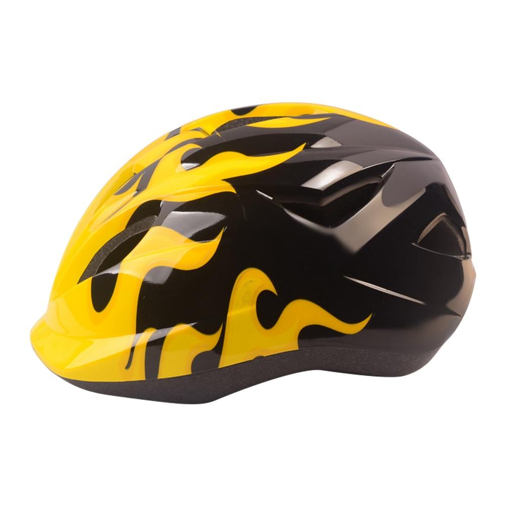 Kids Bicycle Helmet PVC+ Ultralight Children Cycling Helmets Safety Carbon MTB Skate Mountain Bike Hats