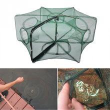 Foldable Crab Net Trap Cast Dip Cage Fishing Bait Fish Minnow Crawfish Shrimp Fishing Net
