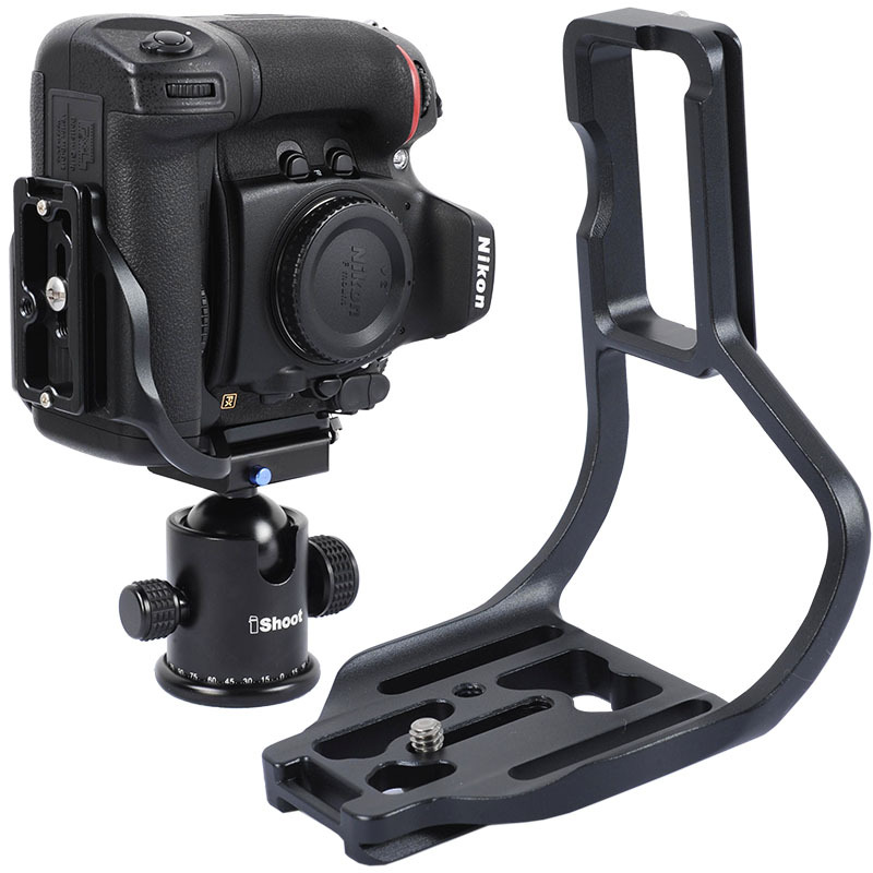 metal quick release plate camera bracket special for nikon d800