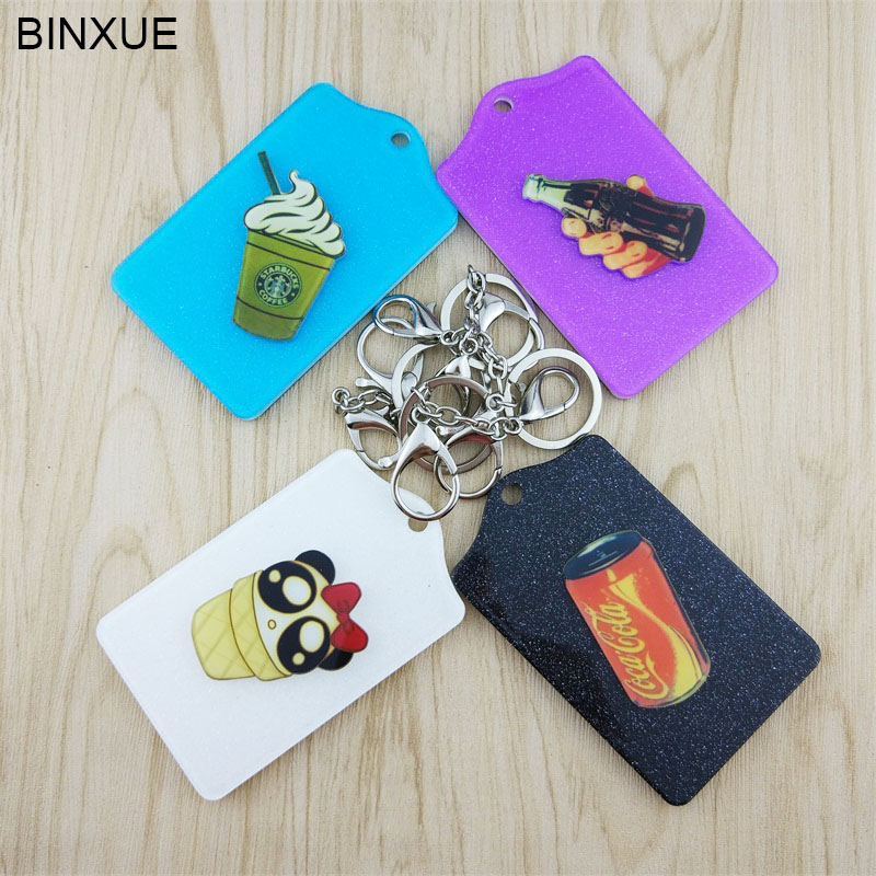 Deftig Binxue Card Groep Campus Een Kaart Oplossing Credit Set Id Holdervarious Inductie Houder Business Badge