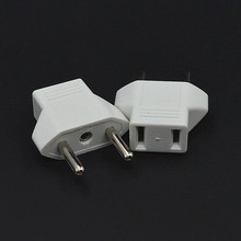 2 pcs New EU To China Plug Adapter Socket Plug Converter Travel Electrical Power Adapter Socket EU To China Plug