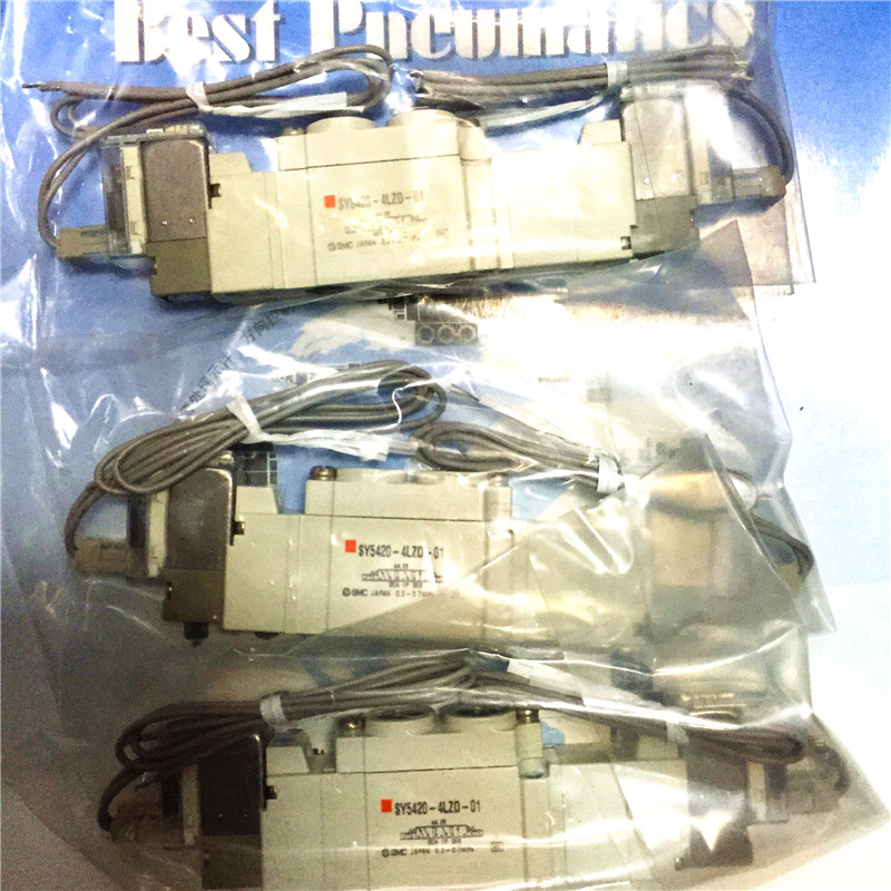 BRAND NEW JAPAN SMC GENUINE VALVE SY5420-4LZD-01 smc type pneumatic solenoid valve sy5240 4lzd 01