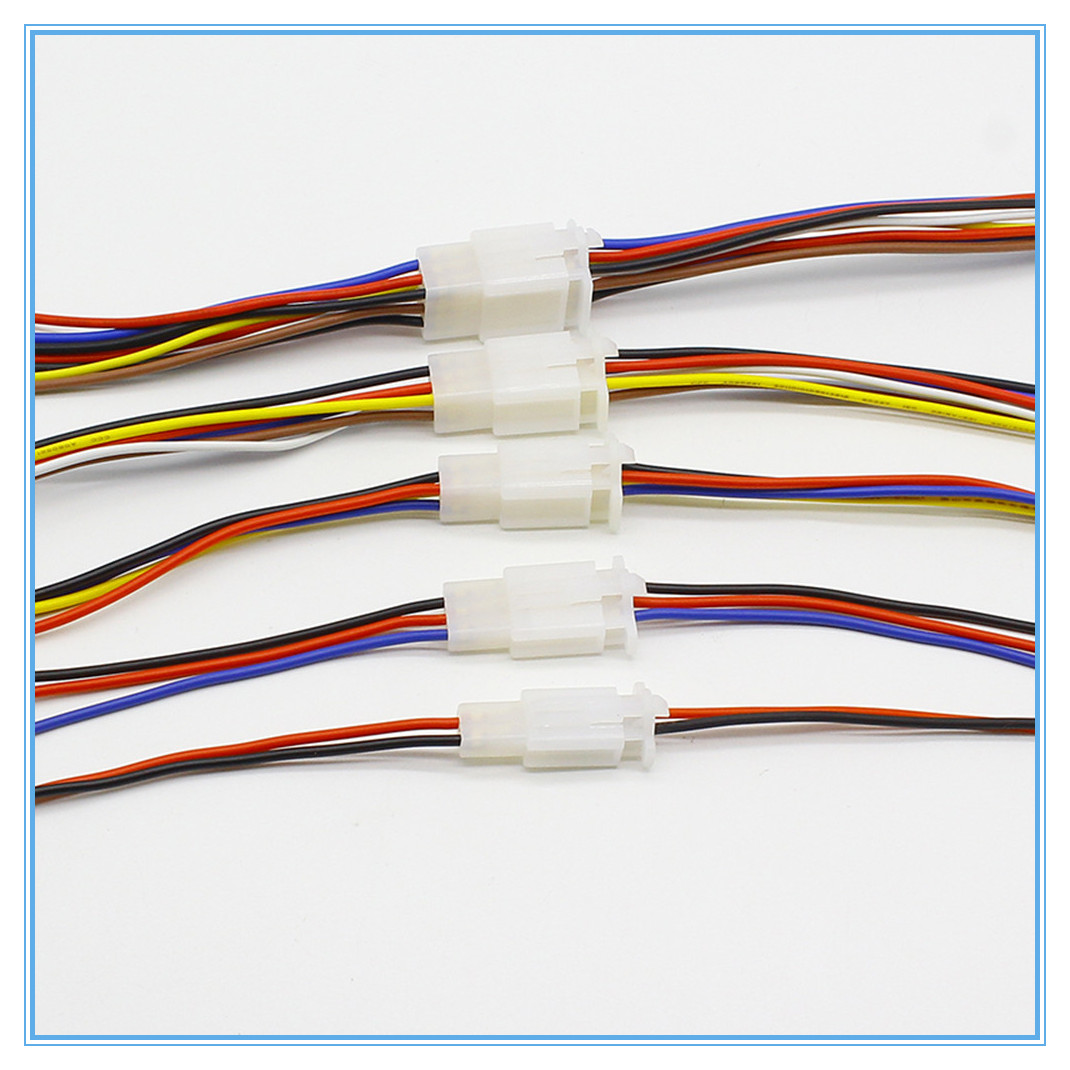 1Sets  2.8mm Automotive 2.8 Electrical 20CM Wire Connector Male Female Cable Terminal Plug Kits Motorcycle Ebike Car