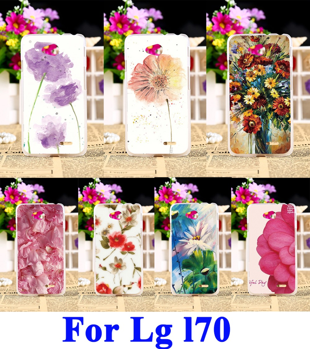 WEE 3C Products Store Hard Plastic Mobile Phone Cases For LG Optimus L7 II P715 P716 L65 D285 D280 L70 Dual D325 D320N D320 W5 MS323 D329 Cover Bags