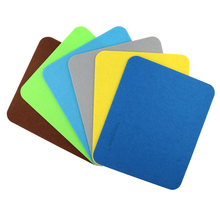 2016 New Felt cloth Hot selling New 240*200*3mm Universal Mouse Pad Mat for Laptop Computer Tablet PC Black