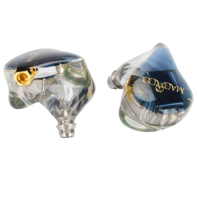MAGAOSI K5 5BA Drive In Ear Earphone 5 Balanced Armature HIFI Resin Earphone Detachable Detach MMCX